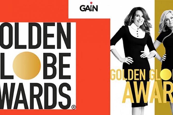Altın Küre ödül töreni GAİN'de canlı yayınlanacak