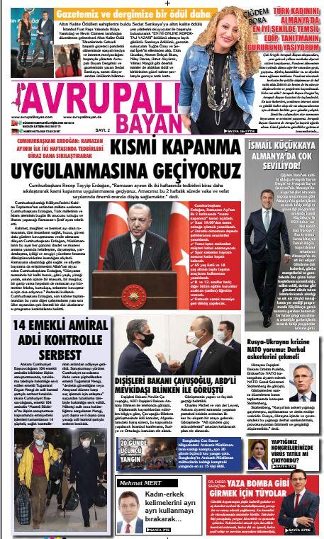 Avrupalı Bayan E-Gazete 2. sayı