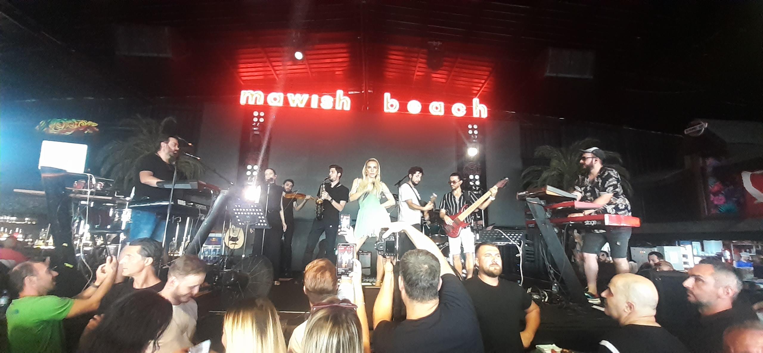 Mavish Beach Club'da Gülşen fırtınası!